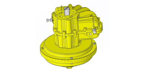 Actionneur pneumatique simple effet 184-120